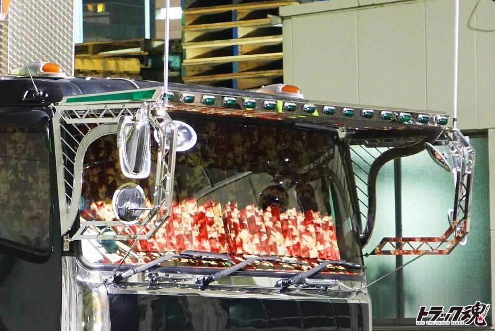 【仕事車礼讃】美しいたたずまいの美紀丸さんの三菱ふそう・スーパーグレート 3