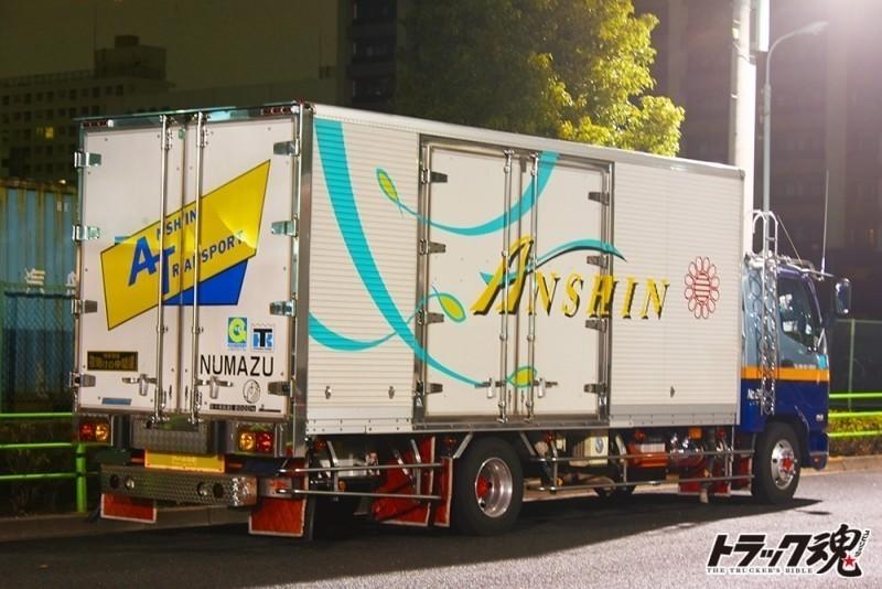 【仕事車礼賛】ふそうキャンター急行ひもの「ANSHIN」これぞ仕事車の鏡 3