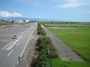 静岡県 富士川河川敷