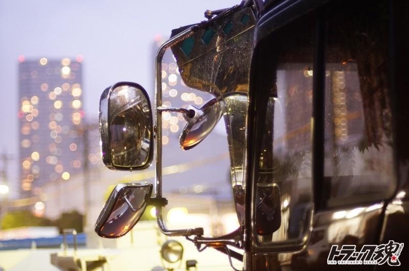 【仕事車礼賛】竜誠丸なめんなよ!ド迫力えさ屋トラックがエサもらい?心に絆、瞳に正義!! 2