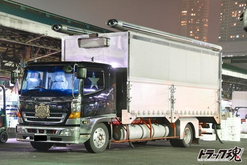 【仕事車礼賛】日野レンジャー5代目 2台 1