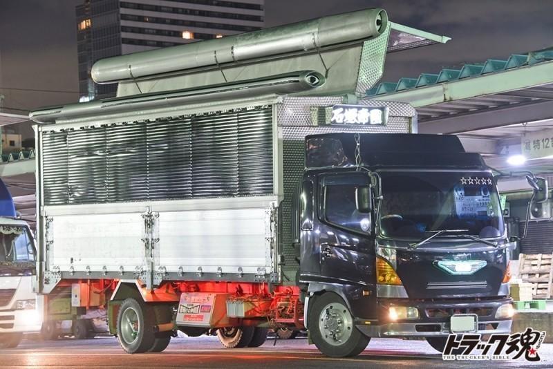 Photo of 【仕事車礼賛】仕事の真っ最中の石塚帝国