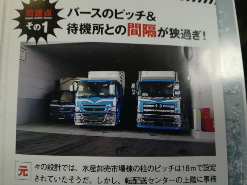 緊急特集!【豊洲市場】トラック雑誌が指摘!運転手視点からの問題点4つ編集記