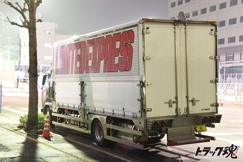 【仕事車礼賛】日本列島坂巻商事さんFUSOファイター 3